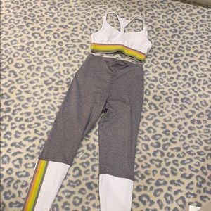 Onzie sports bra and leggings